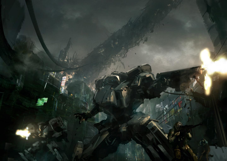 Front Mission: Satellite Rain by ukitakumuki