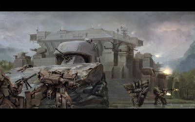 Front Mission: Infiltration by ukitakumuki