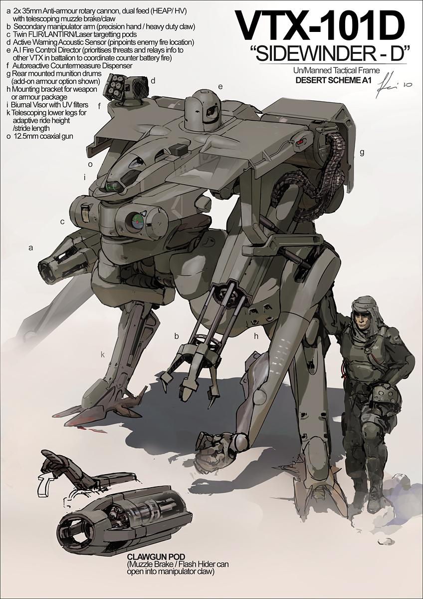 Martian Sidewinder Tribute by ukitakumuki