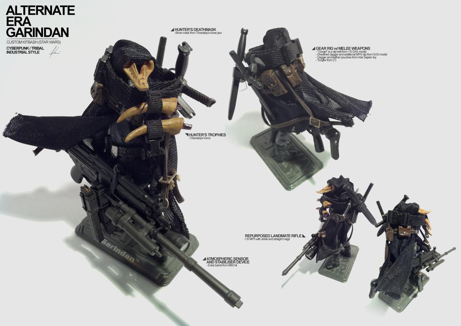 KITBASHED: Garindan Mk2 by ukitakumuki