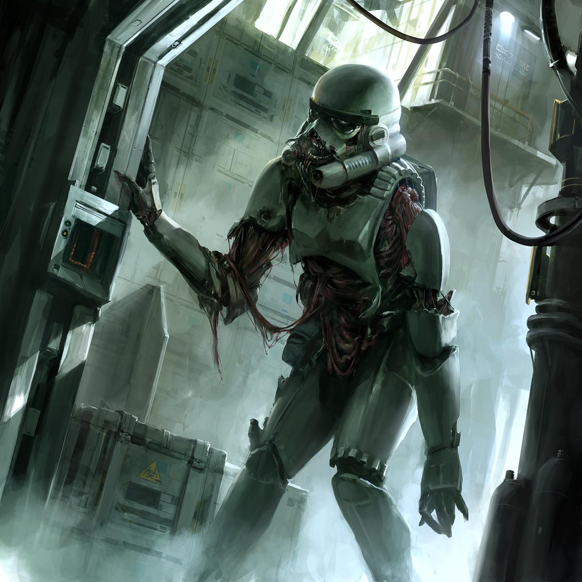 SWGTCG: Re-animated Stormtrooper by ukitakumuki