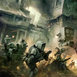 SWGTCG: Urban Combat by ukitakumuki