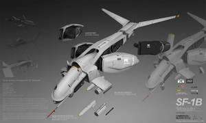 PLANETSIDE 2 Pre-Viz: SF-1B MOSQUITO