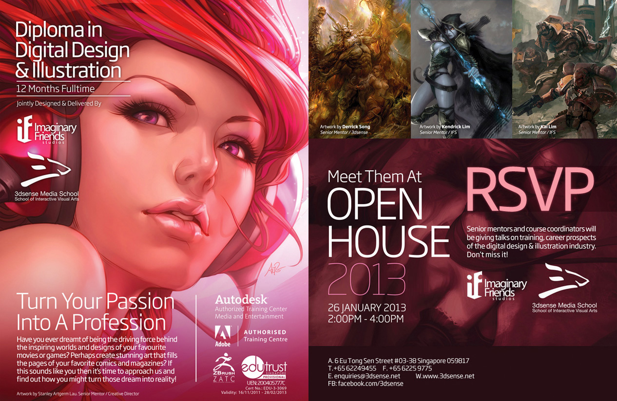 Digital Design and Illustration Diploma Program by ukitakumuki