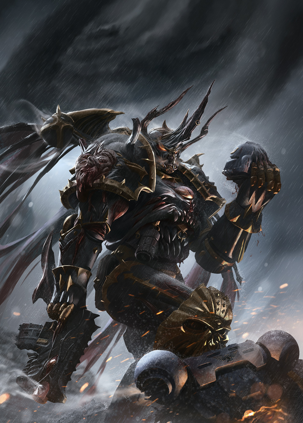 [W40K] Collection d'images : Space Marines du Chaos - Page 2 Ac75b2874792764d02436c545adbce0a-d6i7mx1