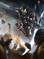 Galaxy Saga: Lance Wielder Advanced by ukitakumuki
