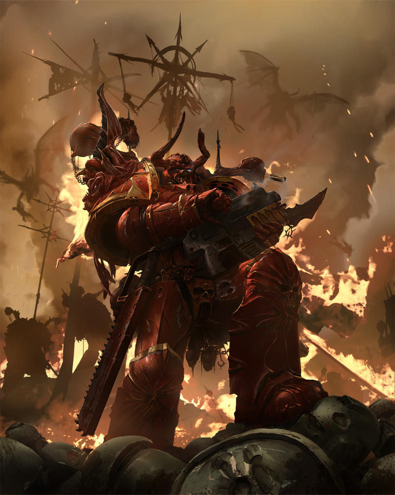 Games Workshop Codex: Crimson Slaughter by ukitakumuki