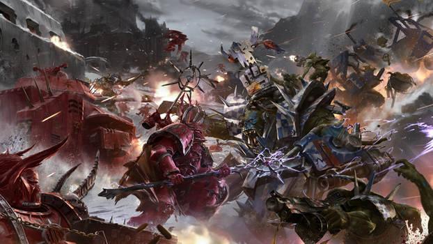 Eternal Crusade Concept Art: Massive Battle