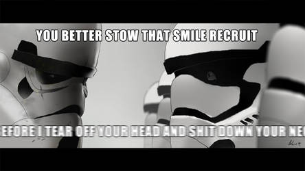A New Stormtrooper's Nightmare