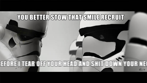 A New Stormtrooper's Nightmare