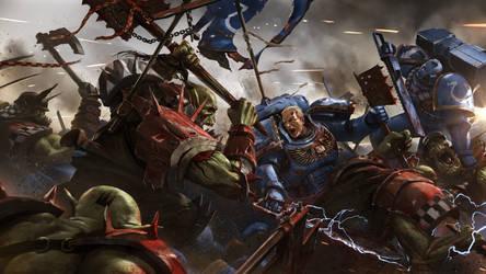 Eternal Crusade Concept Art: Melee