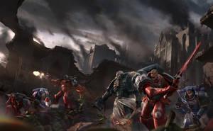 Black Library: Sons Of Wrath by ukitakumuki