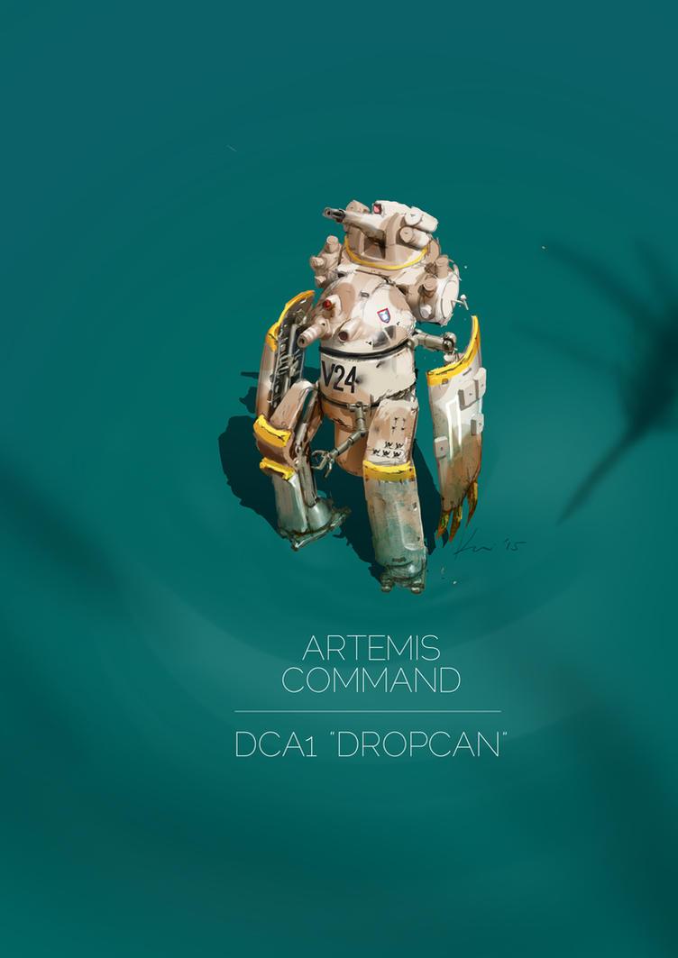 Sons Of Orion: DCA1 Dropcan by ukitakumuki