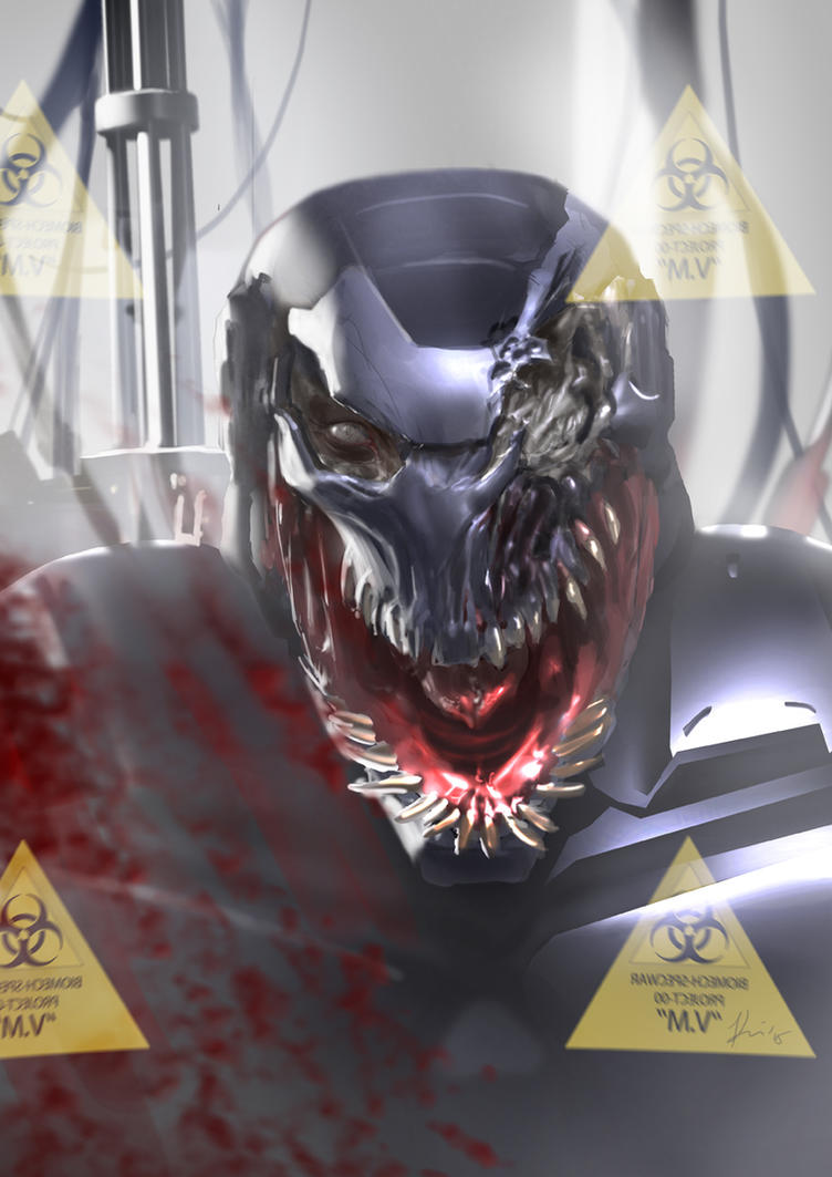 Venom x Machine by ukitakumuki