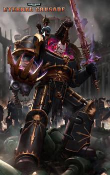 Eternal Crusade Promo Art: Abaddon The Despoiler