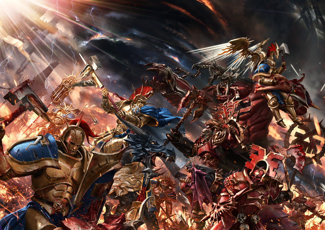 Warhammer: The Gates Of Azyr by ukitakumuki
