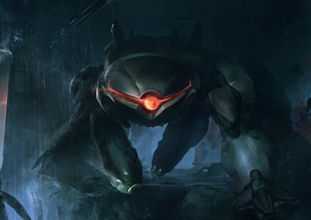 XCOM: DEEP RISING Sectopod by ukitakumuki
