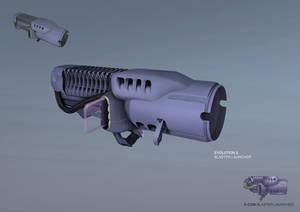XCOM: DEEP RISING Blaster Launcher