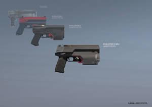 XCOM: DEEP RISING Laser Pistol