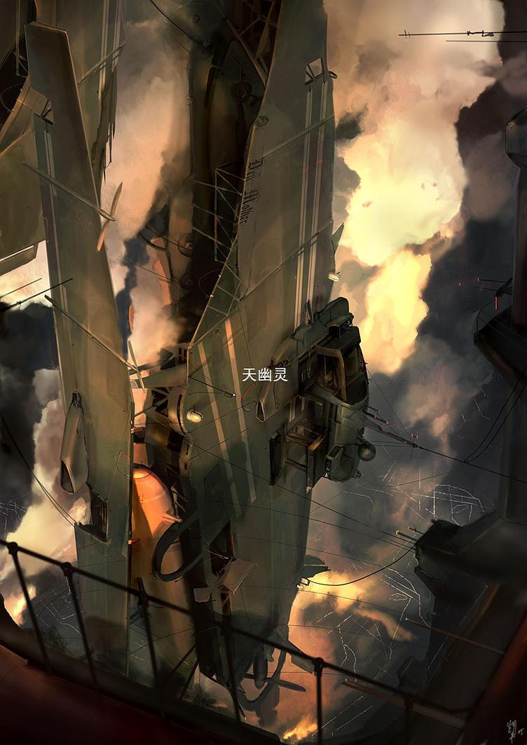 Our Phantom Skies by ukitakumuki
