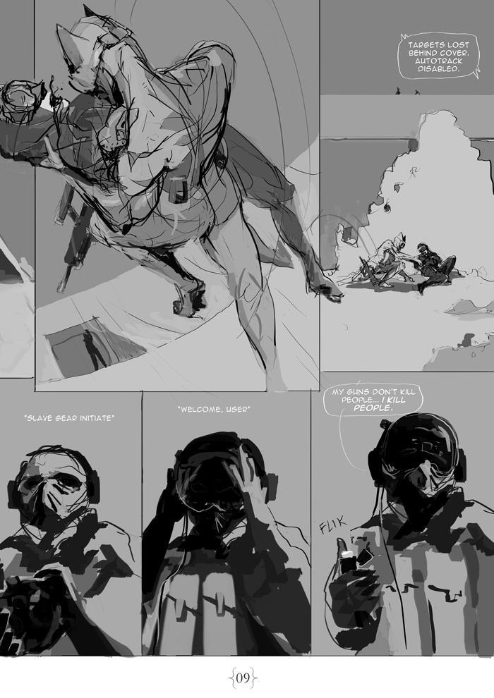 The Seven Year War: 9 by ukitakumuki