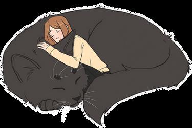 Big cat Carmilla by fatty-sloth