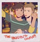 The headbutt couple!