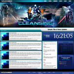 The Cleansing Web Template