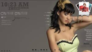 Desktop: Katy Perry by littlestdamnthings