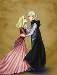 Teenage Lucius And Narcissa