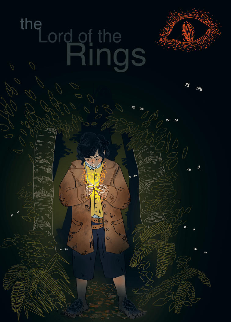 Lotr Book Cover Art : Book covers the lord of rings by muzzling on deviantart