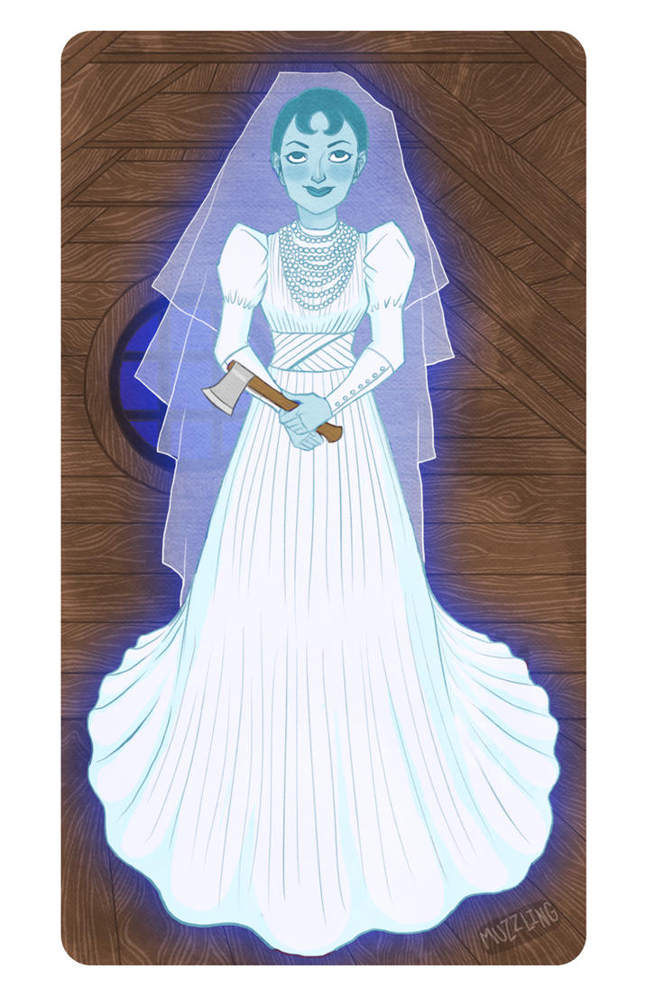 The Haunted Mansion Ghost Bride by MuZzling