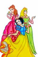 Disney Princess by Eros-lanson