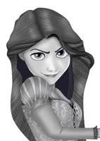 Rapunzel Tangled by Eros-lanson
