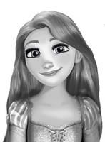 Rapunzel-Smile by Eros-lanson
