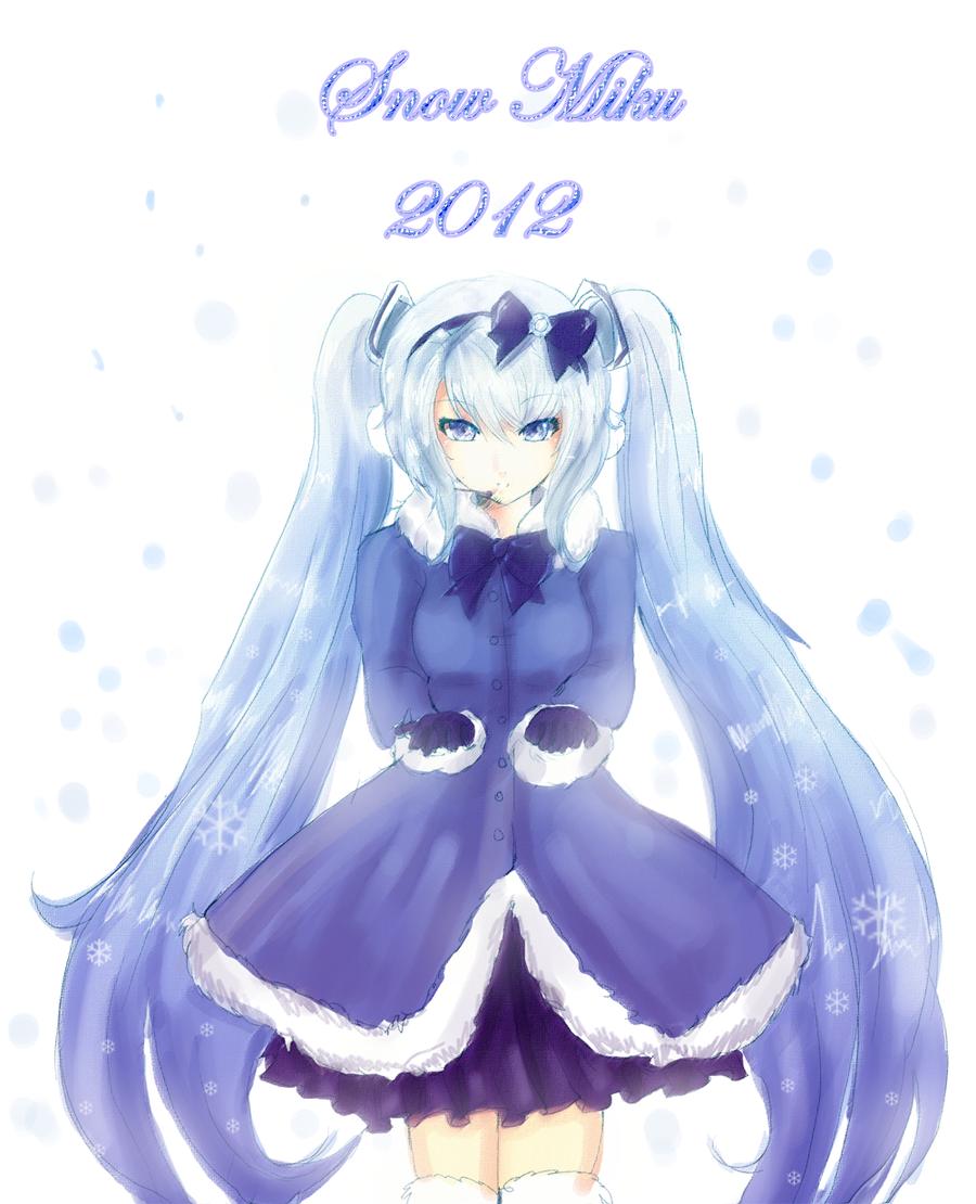 Half★Human Being: Nendoroid Snow Miku 2012 Revealed