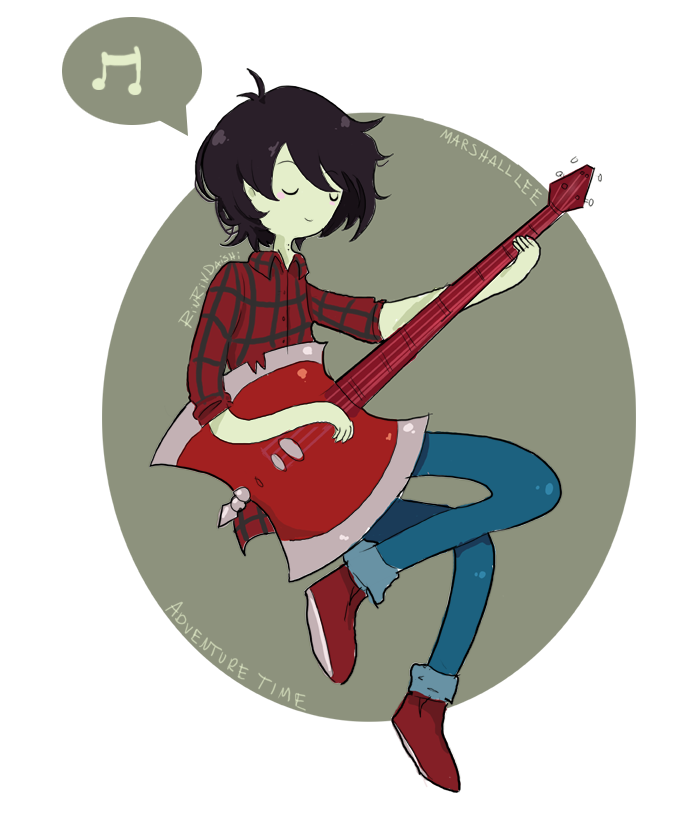 Marshall Lee -Adventure Time by RinRinDaishi