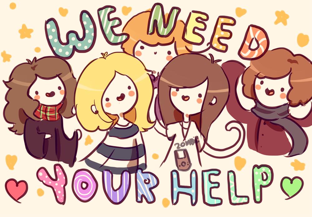 WEEEEEE NEED YOUR HELP by RinRinDaishi