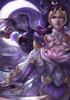 Lunar Goddess Diana by RinRinDaishi