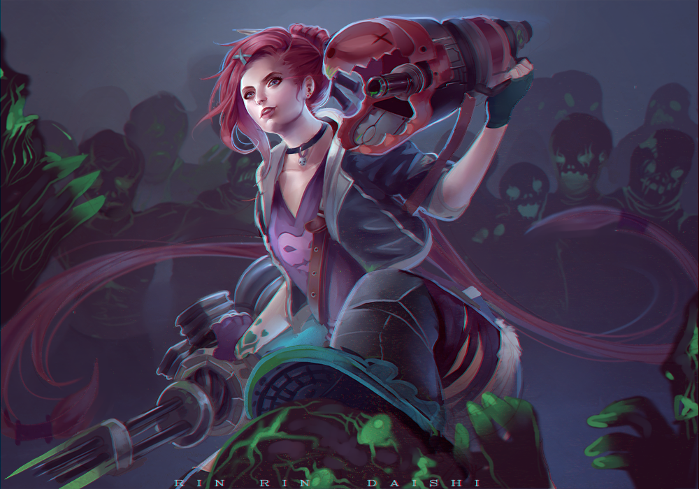 Slayer Jinx Wallpaper Slayer Jinx by RinRinDaishi on DeviantArt