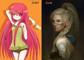 Before and After by RinRinDaishi