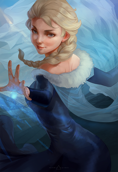 Elsa Artgerm Challenge