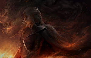I will take what is mine with fire and blood