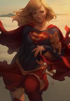 Supergirl Artgerm by RinRinDaishi