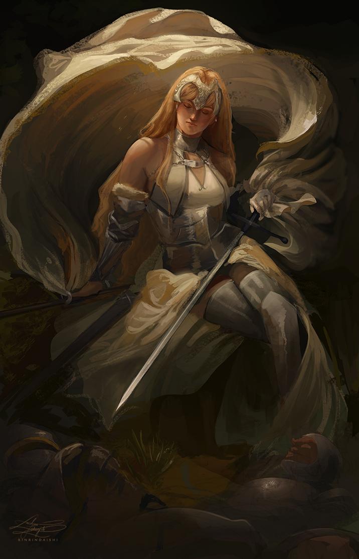 Jeanne D'Arc by RinRinDaishi