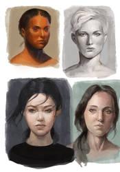 Heads studies 2