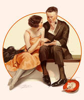 Norman Rockwell by RinRinDaishi