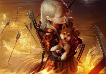 Inferno Archer by RinRinDaishi