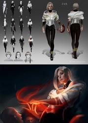 Eva - Glass Contest (Villan)