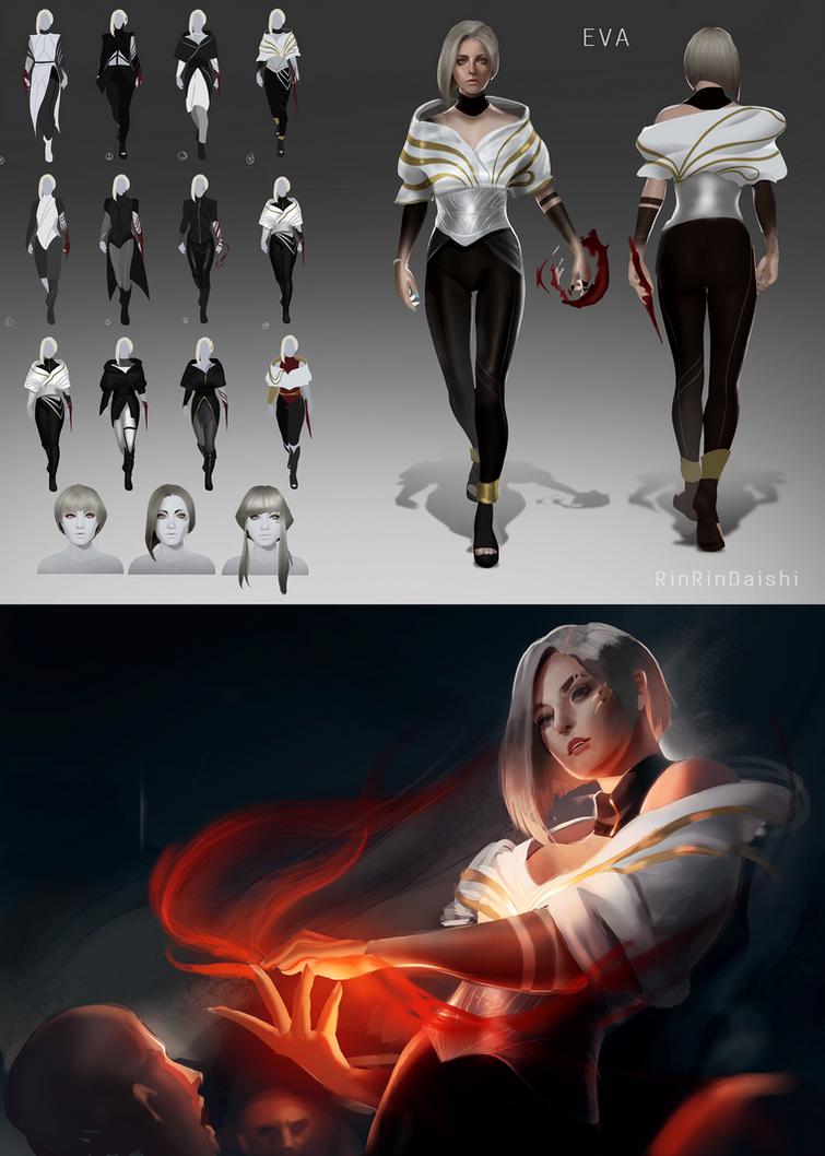 Eva - Glass Contest (Villan) by RinRinDaishi
